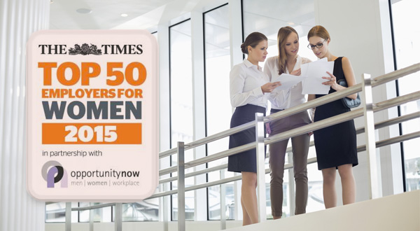 Top 50 eployers for women 2015