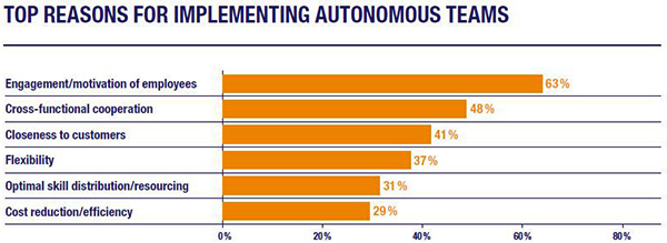 Top Reasons for Implementing Autonomous Teams