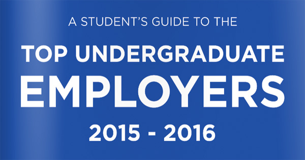 RateMyPlacement, Top 100 Undergraduate Employers