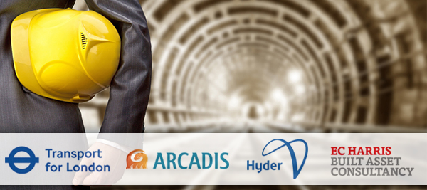Transport for London selects ARCADIS, Hyder Consulting and Ed Harris