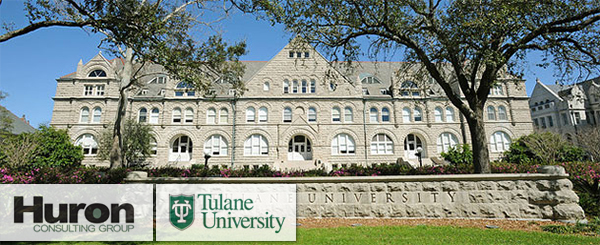 Tulane University hires Huron Consulting