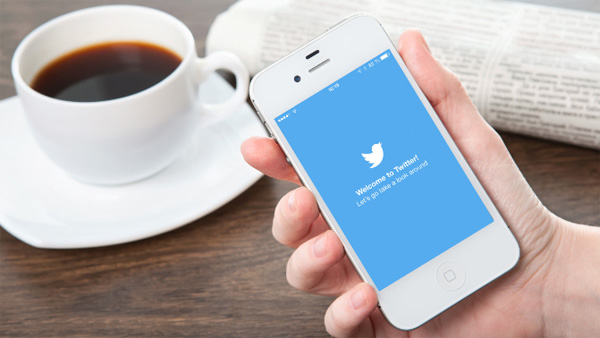 Twitter service mobile