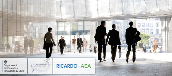 UK GOV extends Sciencewise contract with Ricardo-AEA