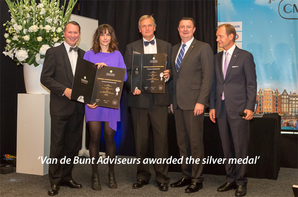 Van de Bunt Adviseurs awarded the silver medal