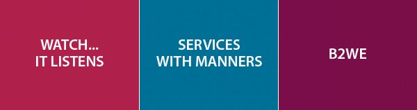 Wach IT Listens - Services with manners - B2WE
