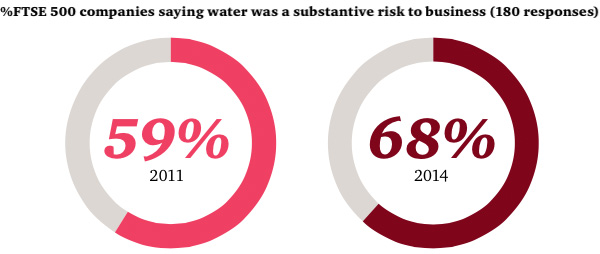 Water - a risk for business