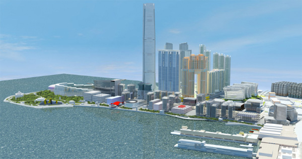 West Kowloon Cultural District - Hong Kong
