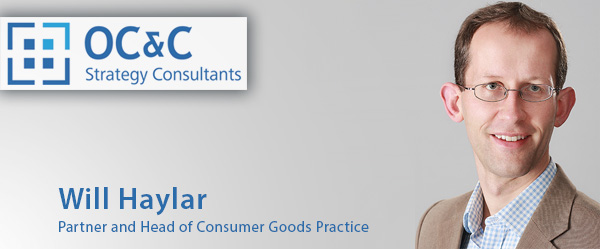 Will Hayllar, Partner and Head of Consumer Goods Practice OC&C