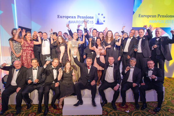 Winners of the European Pensions Awards 2015