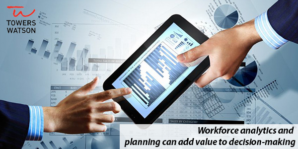 Workforce analytics and planning can add value to decision-making