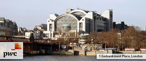 pwc london office. PwC Office In London Pwc London